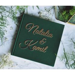Księga gości w formie książki