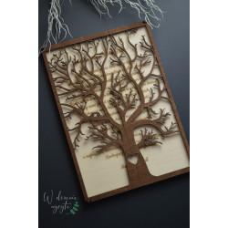 Zaproszenie drzewo