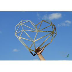 Geometryczne serce lustrzane