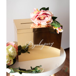 Lustrzane pudełko na koperty